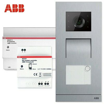 ABB Welcome Door Entry System Mini OS Kit- Video Doorbell, Intercom, Gate Opener