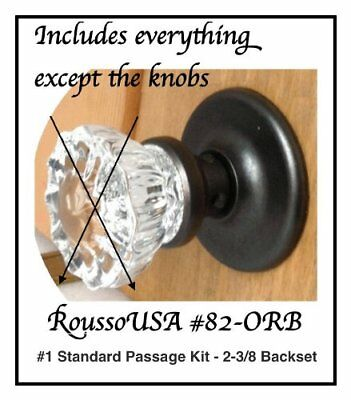 Universal Retrofit kits to fit your Antique Knobs in any modern Pre-Drilled