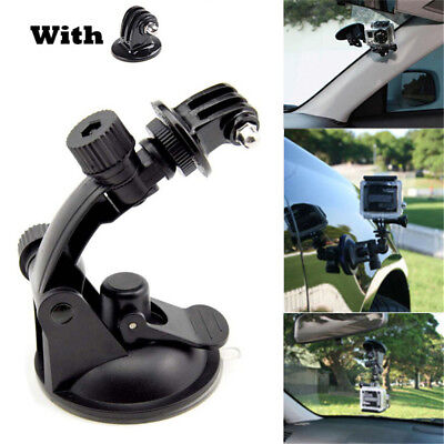 New Car Window Windshield Glass SUCTION Cup Mount Holder for Hero 4 3 2 1 Camera