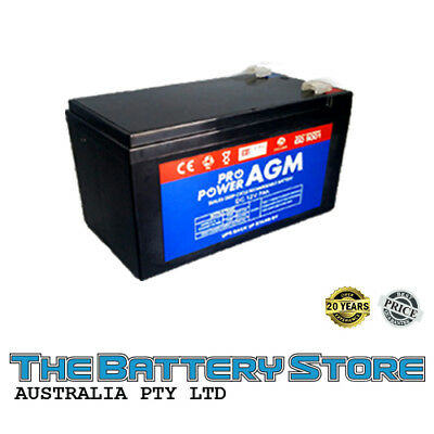 12v 7ah AGM SEALED DEEP-CYCLE LEAD ACID SLA BATTERY ALARM UPS TORCH SPOTLIGHT