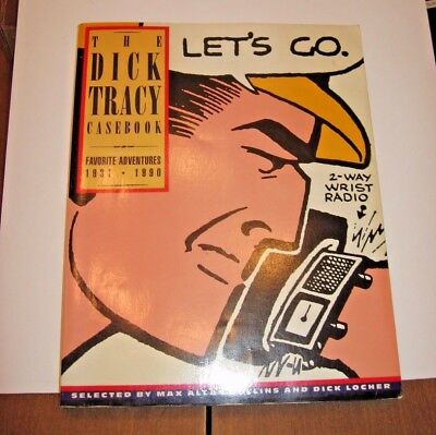 """The Dick Tracy Casebook  """"Let's Go'  Showcases Classic Comic Striip"""