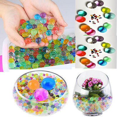Water Bio Crystal Gel Beads Growing for Plants Vases Non-Toxic Mix