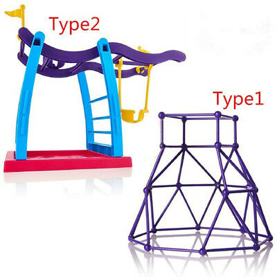 For Finger Monkey Jungle Gym Playset Interactive Baby Climbing Swing Stand Toy