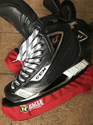 CCM U+ CL Hockey Skates Senior Size 8D Pre-Owned Pro-Stock WOB Good Condition