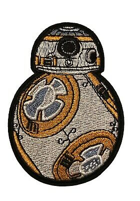 Star Wars Movie Themed BB8 Droid Cosplay Iron On Patch