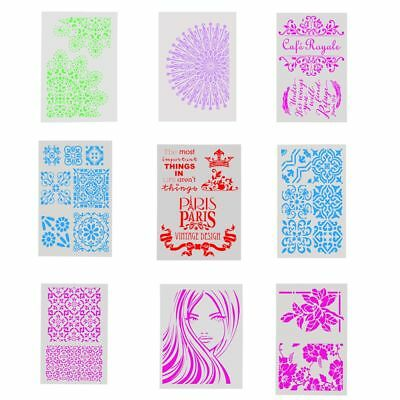 DIY Craft Layering Stencil Template For Walls Painting Scrapbooking Stamping New