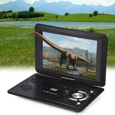 13.9 Pollici Lettore Dvd Portatile Hd Lcd Dvx Video Cd Foto Slot Sd Usb Fm