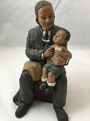 Martha Holcombe GOD IS LOVE Figurine Dr Daniel Williams Signed & Numbered 111