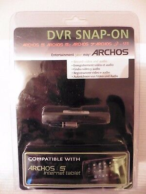 Archos DVR Snap-On Dock for Generation 5 and 7 (501196) BRAND NEW SEALED