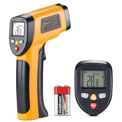 Infrared Thermometer, Non Contact -58℉~1202 ℉ (-50℃ ~ 650℃) Digital
