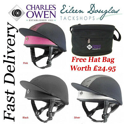 CHARLES OWEN PRO II SKULL***Free Hat Bag Worth £24.95*** Riding hat