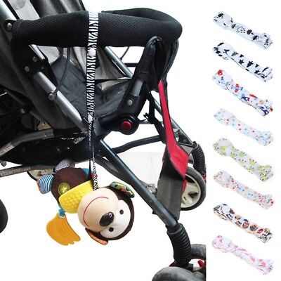 Baby Stroller Toys Fixed Strap Cute Holder Anti Lost Drop Band Accessories Saver