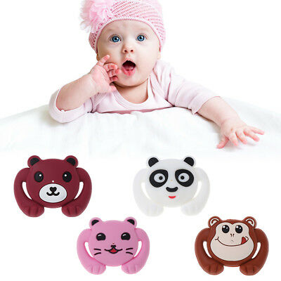 Baby Soother Silicone Pacifier Funny Cartoon Nipple Orthodontic Newborn Infants