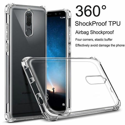 For Huawei Mate 20 10 Pro Lite Clear Shockproof Slim Silicone TPU Cover Case