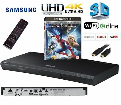 Samsung UBD-K8500/XU Smart 4k Ultra HD 3D WIFI Blu-ray/DVD/CD Player & 4K Title