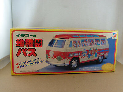 Ichiko  VW BUS  in Originalschachtel   /  Tin Toy Made in Japan  /  Blechauto