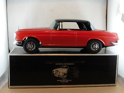 Ichiko  Mercedes  250 SE  Coupé  in OVP /  Tin Toy aus Japan  /  Blechauto