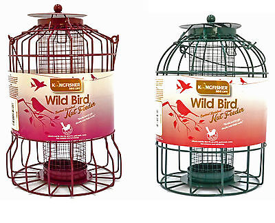 Squirrel Proof Bird Feeders Small Garden Birds Anti-Squirrel Cage Nut/Seed/Ball