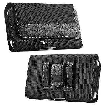 Rugged Belt Clip Holster Pouch Carrying Case Cover For Apple iPhone 8 7 6S Plus