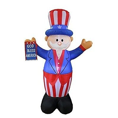 4th Of July Inflatable Uncle Sam Independence Day Fourth Of July Red White Blue