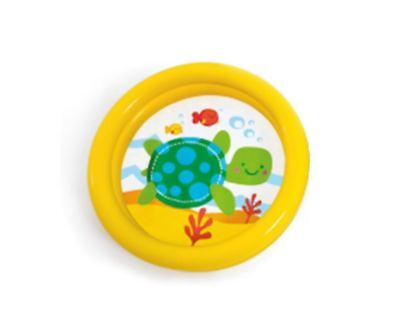 Intex Yellow Inflatable 2 Ring My First Pool Baby Paddling Pool