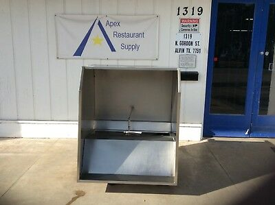 """48"""" 4ft Commercial Gaylord Vent Hood Restaurant Exhaust Hood System #2798"""
