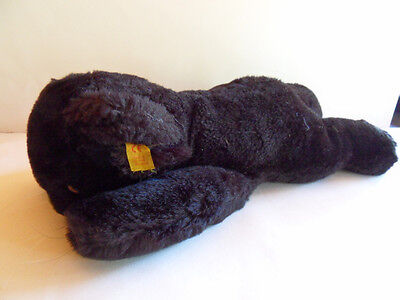 Steiff Panther  puma cosy panther  button flag Germany 974