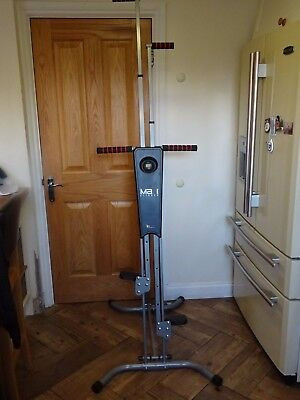 Maxi Climber Vertical Climbing Fitness System, EX COND