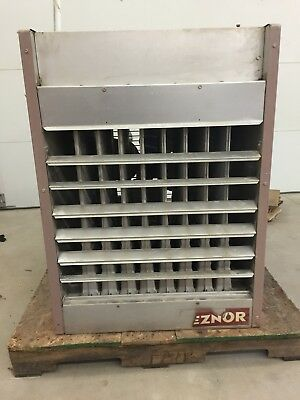Natural gas Reznor commercial/industrial unit heater model FE250 offers accepted