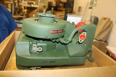NEW  Military Surplus Gas Engine Teledyne WFI 1.5HP  1A08-4 8 CU INCH
