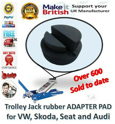 Audi A3 A4 VW Golf Seat Trolley Jack Rubber Pad Adapter Tool for Deep slot pinch