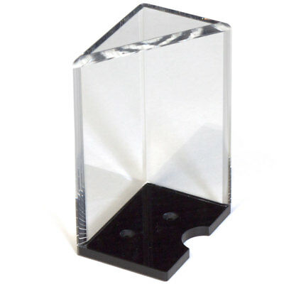 Casino Grade 8 Deck Acrylic Discard Holder/Tray with Top. NEW + FREE SHIPPING!