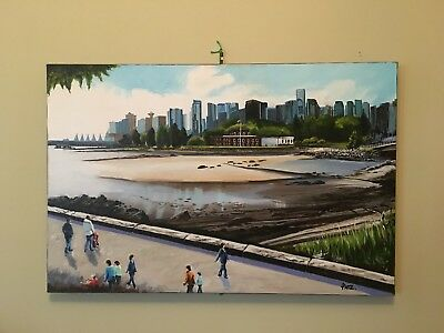 Admiralty House,Stanley Park Canada - Acrylic On Canvas, Artist: Pat Sturgeon