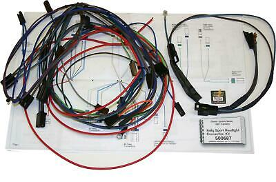 American Auto Wire 1967 Camaro RS Front Headlight Wiring Harness Kit 500773