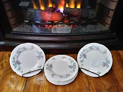 """Pfaltzgraff GRAPE VINE Salad Plate 8-1/4"""" Lot Of 3 ONLY $10 *EXCELLENT CONDITION"""