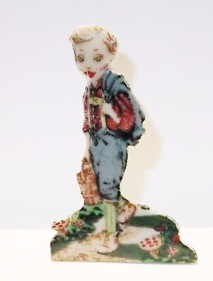 "Wade Porcelain Figurines--""hansel"" Chipped And Broken Snippet 1957-1958"