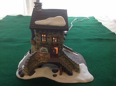 MINT Department 56 Dickens Village building: The Maltings ~ Stock #5833-5