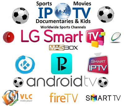 IPTV 1 Months Sports Only,100's of Sports Channels,3pm,Magbox,Android,LG,Samsung