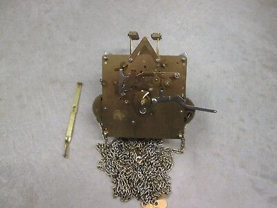 """Hermle Westminster Chime Grandfather Clock Movement, 451-050 H 94cm, Working """"A"""""""