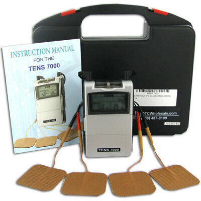 NEW TENS 7000 2nd Edition - Most Powerful unit Back Pain and Rehabilitation