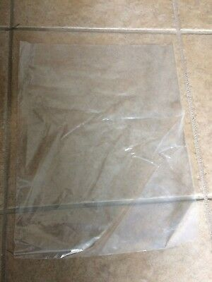 2 Mil  medium lay flat product bag 12x15  Clear Poly Plastic Open End 100 Bags