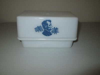 McKee Abraham Lincoln 1 Lb. Butter Dish