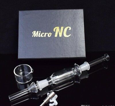 mini nectar collector 10mm + 2 silicone jars (For wax/dab) USA seller Free ship