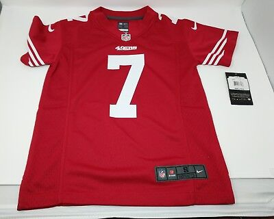 1c769528a Nike Colin Kaepernick  7 San Francisco 49Ers Red Nfl Football Jersey Youth  Small