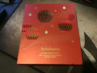 Sulwhasoo First Care Activating Serum EX Holiday Limited