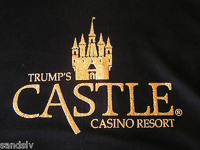 Donald Trump Shirt fr Trump's Castle Casino Resort Atlantic City sz XL New Cond.
