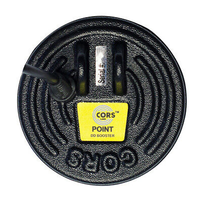 "CORS Point 5"" DD Search Coil for Teknetics Greek Metal Detector with Cover"