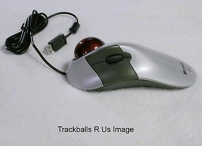 One of THE BEST Microsoft Explorer Trackball Mouse Upgraded & Ceramic Bearings