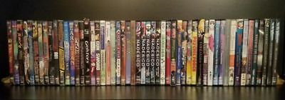 Huge Mixed Lot of 52x Anime DVDs - Full Metal Alchemist, XXXHolic, Naruto, Lupin