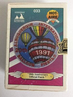 """1991 """"HOT AIRE"""" BALLOON TRADING CARDS, COMPLETE SET of 100 SEALED"""